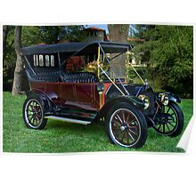 1912 REO the Fifth, 4 Door Touring Car Poster