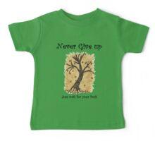 A Happy Tree on Tshirt Baby Tee