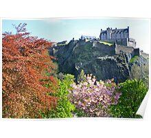 Edinburgh Castle - Edinburgh, Scotland Poster