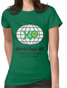 Expo 88 Womens Fitted T-Shirt