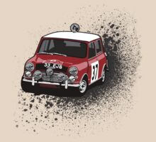 Machina Attire - 'Paddy Hopkirk 37' Mini Cooper by Twain Forsythe