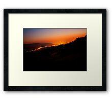 Remstal Sunrise VRS2 Framed Print