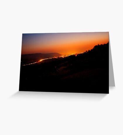 Remstal Sunrise VRS2 Greeting Card