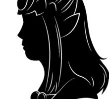 Heroes of Hyrule - The Princess (light tee version) Sticker