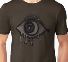 Abstract fish/eye? (Black and White) Unisex T-Shirt