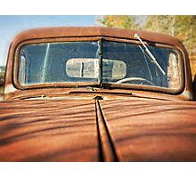 Rusty Old Pick Up Truck Photographic Print