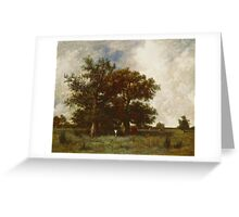 Fontainebleau Oak, c.1840 Greeting Card