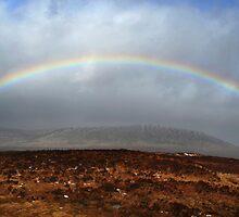 Rannoch Moor Rainbow by Jim Barter