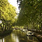 Capestang, Canal du Midi by HazardousCoffee
