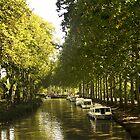 Capestang, Canal du Midi by HazardousCoffee