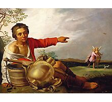 Shepherd Boy Pointing at Tobias and the Angel, c.1625-30 Photographic Print
