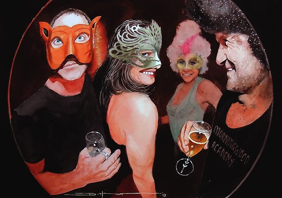 Masked Ball #8 by Douglas Hunt