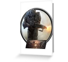 Fallout 4 Design Greeting Card
