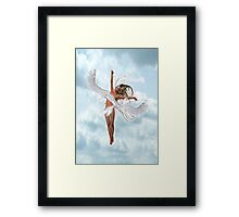 A Lone Angel Framed Print