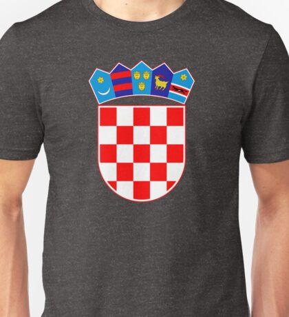 Croatia (Hrvatska) Unisex T-Shirt