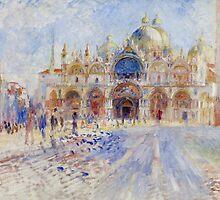 The Piazza San Marco, Venice, 1881 by Bridgeman Art Library