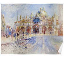 The Piazza San Marco, Venice, 1881 Poster