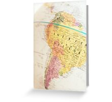 Maps Greeting Card