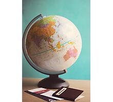 Travel Planning Photographic Print