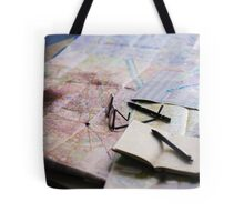 Plan your trip with anticipation Tote Bag