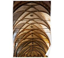 Crossed Arches Poster