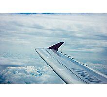 Airplane winglet II Photographic Print