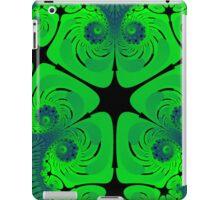 green fractual iPad Case/Skin
