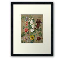Untitled (Flowers) Framed Print