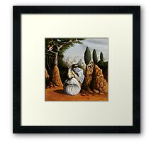 Freud/St. George and the Dragon Framed Print