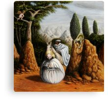Freud/St. George and the Dragon Canvas Print