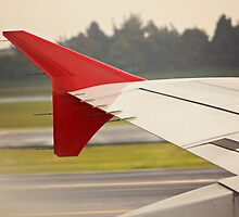 Airplane winglet III by Sciuridae