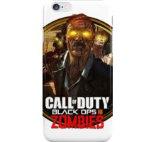 Call of Duty: Black Ops 3 Zombies iPhone Case/Skin