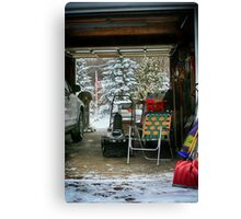 Shovel Ready Canvas Print