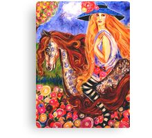 LADY GADIVA REVISITED Canvas Print