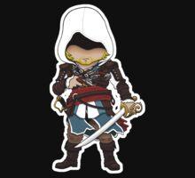 Pirate Assassin Kids Tee