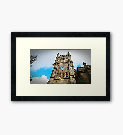 """"""" A Tower with History"""" Framed Print"""