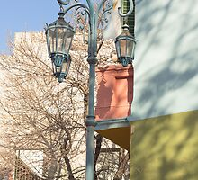 Street Light of La Boca III by Sciuridae