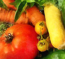 Food - Vegetable Medley by Susan Savad