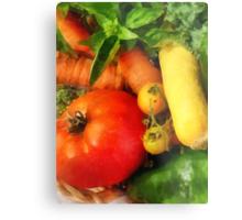 Food - Vegetable Medley Metal Print