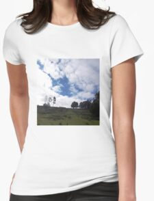 Cloudscape Womens Fitted T-Shirt