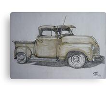 American pick up truck Canvas Print
