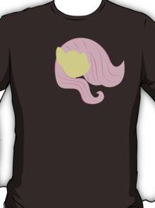 Flutter Shy silhouette  T-Shirt