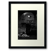 Old Lady with Soup Framed Print