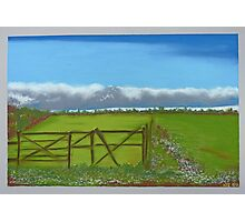 Countryside in pastels Photographic Print