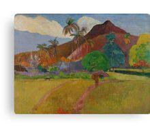 Tahitian Landscape, 1891  Canvas Print