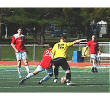 093012 371 colored pencil soccer Photographic Print