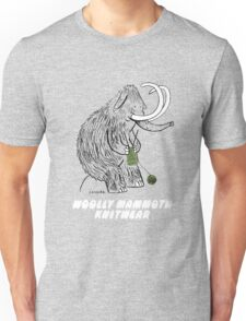 Woolly Mammoth Knitters Unisex T-Shirt