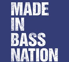 Made In Bass Nation  Womens Fitted T-Shirt