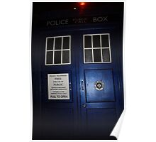 Doctor Who Tardis Door - Tom Baker Poster