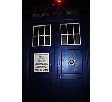 Doctor Who Tardis Door - Tom Baker Photographic Print
